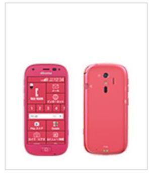 ドコモ_らくらくスマートフォン4(F-04J)